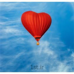 پرواز با بالن در روز ولنتاین