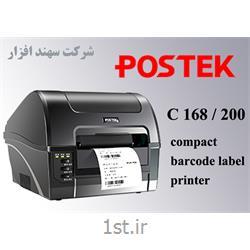 عکس چاپگر (پرینتر)دستگاه لیبل پرینتر Postek C168 200s