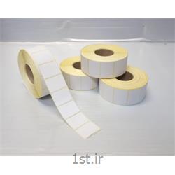 لیبل کاغذی کم چسب آزمایشگاهی  سایز 35*25