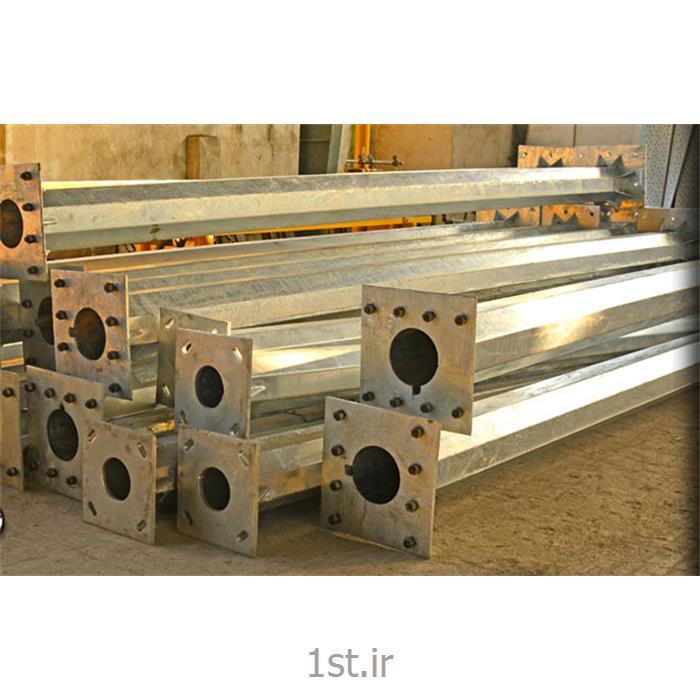 عکس تیر چراغ برقپایه چراغ فلزی چندوجهی مازیارصنعت