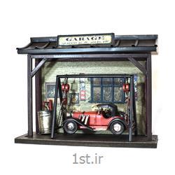 عکس ماشین اسباب بازی مدل (کلکسیونی)ماکت تعمیرگاه ماشین مدل 8661