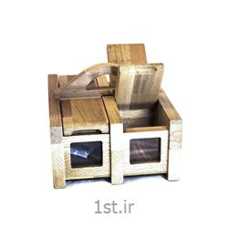 جای تی بگ و چای چوبی 4 تایی کد Beech AMTB1