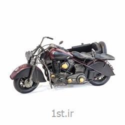 عکس ماشین اسباب بازی مدل (کلکسیونی)ماکت موتورسیکلت ترک بند فلزی مدل 8689