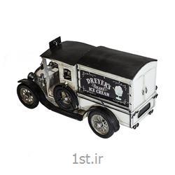 ماکت کامیون بستنی فلزی مدل 8616