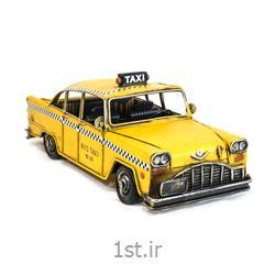 عکس ماشین اسباب بازی مدل (کلکسیونی)ماکت ماشین تاکسی فلزی مدل 8659
