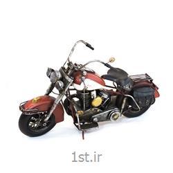 عکس ماشین اسباب بازی مدل (کلکسیونی)ماکت موتورسیکلت هارلی دیویدسون فلزی مدل 8559