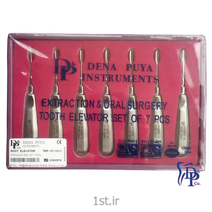 عکس تجهیزات دندانپزشکیست الواتور 7 عددی مدل A 1300 دنا پویا