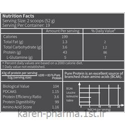 پیور پروتئین مکمل پروتئینی حاوی گلوتامین ساشه 15 گرمی