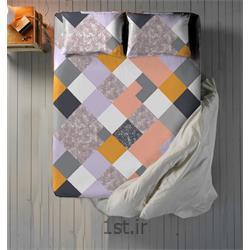 عکس ست تخت خوابملحفه نیم ست دو نفره سه تکه عرض 180 طرح دایموند