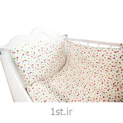 ست لحاف کودک و نوزادی هفت تکه طرح چیکن رنگ قرمز