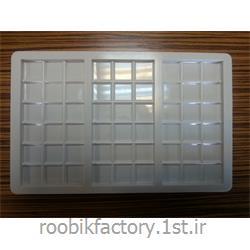 عکس قالب هاقالب پلاستیکی شکلات تابلت 85 گرم