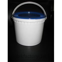 سطل 3 کیلوگرمی پلاستیکی با درب