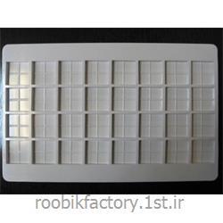 عکس قالب هاقالب شکلات پلی کربنات مدل چهار انگشتی 5 گرم