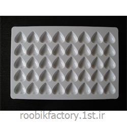 قالب شکلات پلی کربنات مدل قلب 7 گرم