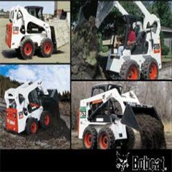 عکس سایر محصولات خاک برداری و زیر سازیاجاره مینی لودر بابکت بابکت