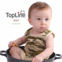عکس لباس زیر بچه گانه زیرپوش نوزاد تاپ لاین مدل کماندوئی