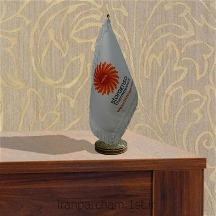 پرچم رومیزی ساتن تبلیغاتی چاپ دیجیتال