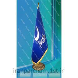 پرچم تشریفات جیر چاپ پفکی03