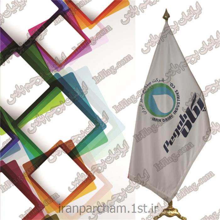 عکس پرچم، بنر و لوازم جانبیپرچم تشریفات تبلیغاتی دیجیتال ساتن درجه یک مدل 59
