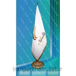 پرچم تشریفات جیر چاپ لیزر 010