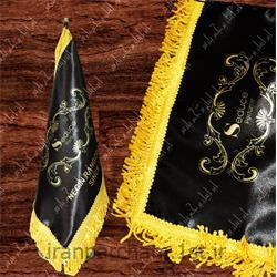 پرچم رومیزی ساتن تبلیغاتی چاپ دیجیتال 45