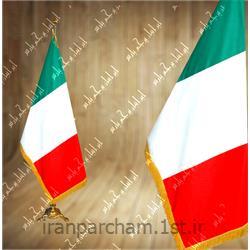 عکس پرچم، بنر و لوازم جانبیپرچم تشریفات ساتن کشور ایتالیا