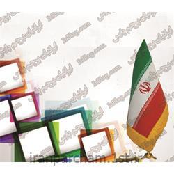 پرچم رومیزی ایران جیر چاپ سیلک 19