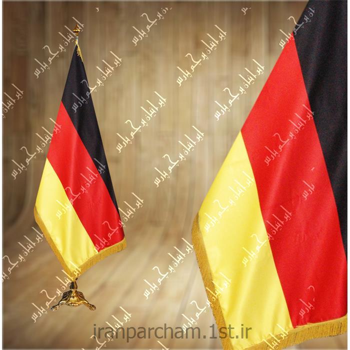 پرچم تشریفات ساتن کشور آلمان