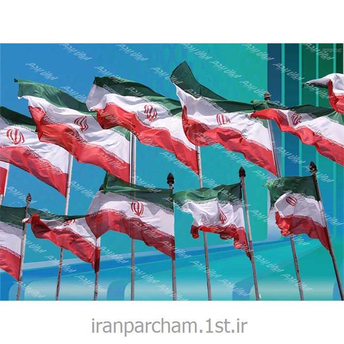 پرچم ساتن اهتزاز ایران01