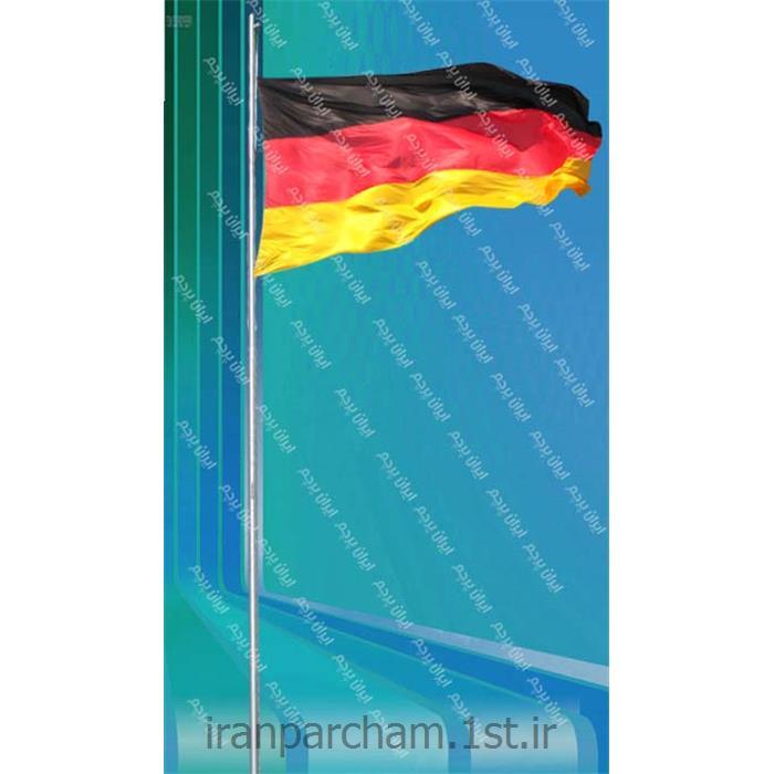 پرچم اهتزاز ساتن کشور آلمان