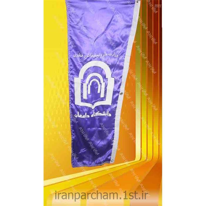 پرچم اهتزاز ساتن تبلیغاتی عمودی 01