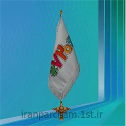 پرچم تشریفات ساتن چاپ دیجیتال مدل L2