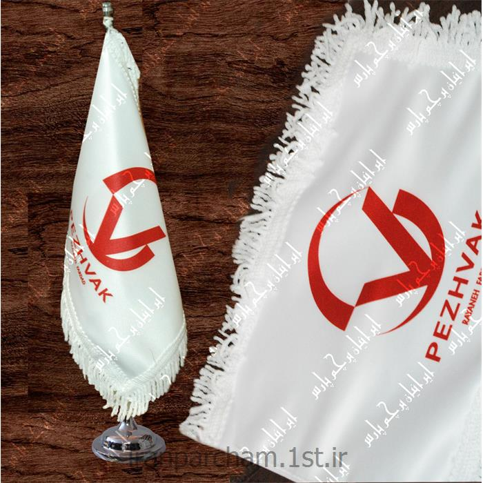پرچم رومیزی ساتن تبلیغاتی چاپ دیجیتال 42