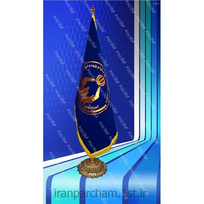 پرچم تشریفات جیر گلدوزی01