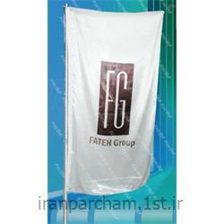 پرچم اهتزاز ساتن تبلیغاتی عمودی016
