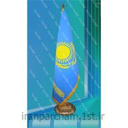 پرچم تشریفات جیر کشور قزاقستان