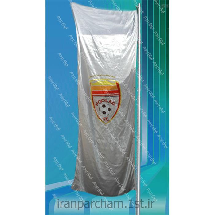 پرچم اهتزاز ساتن تبلیغاتی عمودی 013