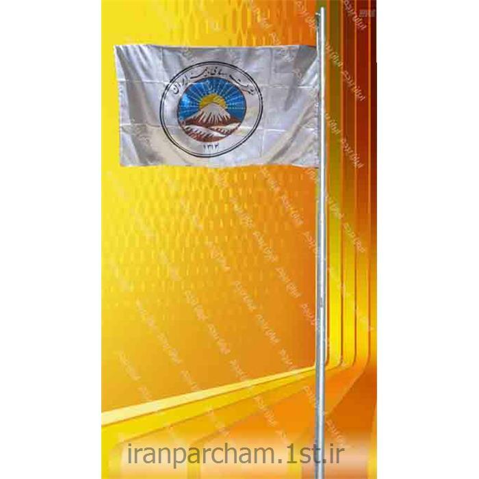 پرچم اهتزاز ساتن تبلیغاتی افقی 02