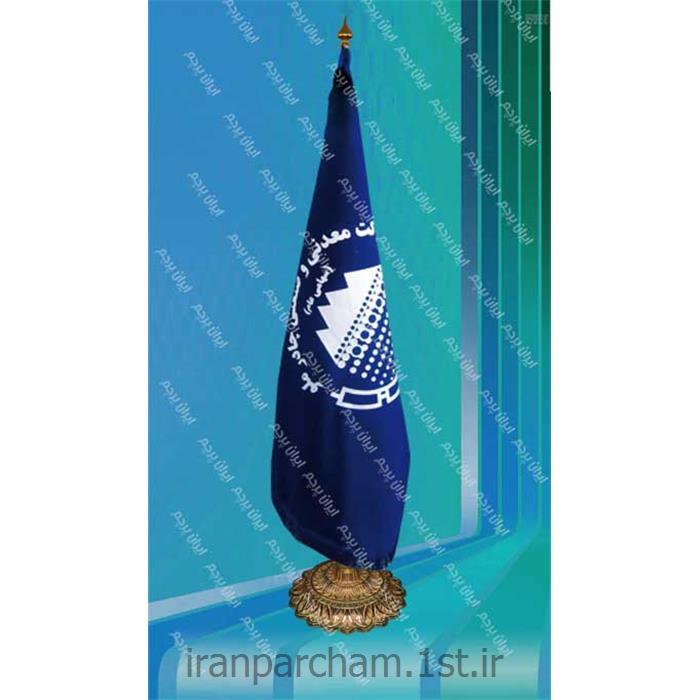 پرچم تشریفات جیر چاپ لیزر 011