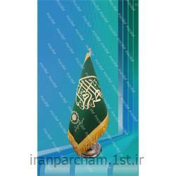 پرچم رومیزی جیر چاپ پفکی 01