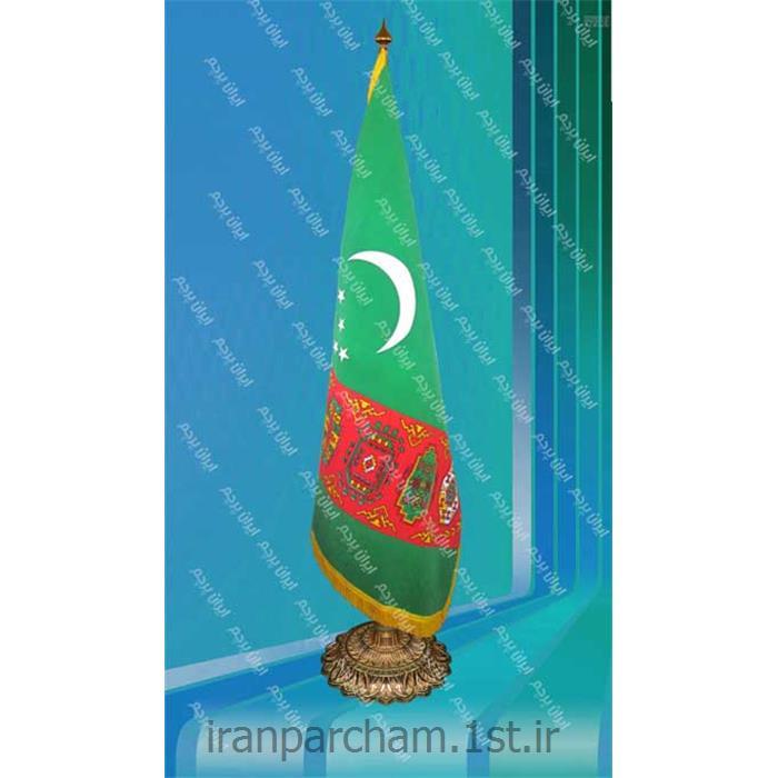 پرچم تشریفات جیر کشور ترکمنستان