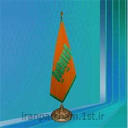 پرچم تشریفات جیر چاپ پفکی مدل L1