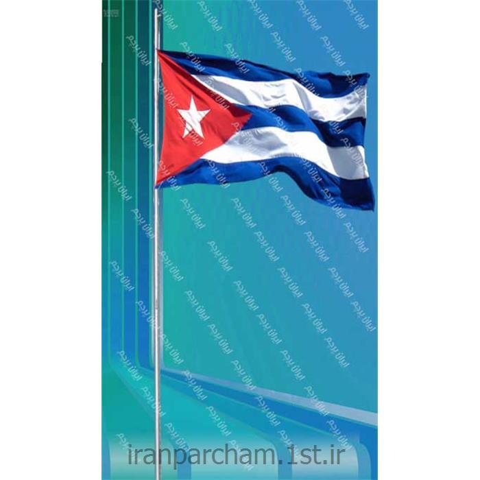 پرچم اهتزاز ساتن کشور کوبا