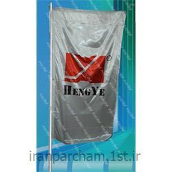 پرچم اهتزاز ساتن تبلیغاتی عمودی015