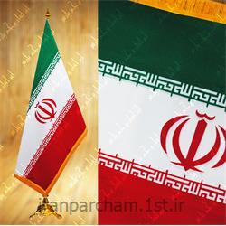 عکس پرچم، بنر و لوازم جانبیپرچم تشریفات جیر چاپ سیلک سایز 90*150