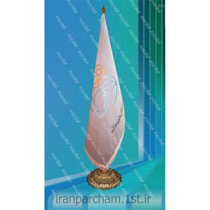 پرچم تشریفات جیر چاپ لیزر 012