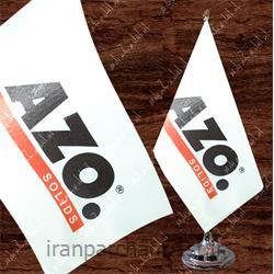 پرچم رومیزی ساتن تبلیغاتی چاپ دیجیتال 48