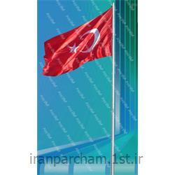 پرچم اهتزاز ساتن کشور ترکیه