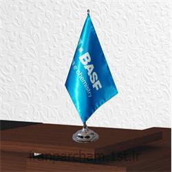 پرچم رومیزی ساتن تبلیغاتی چاپ دیجیتال S39