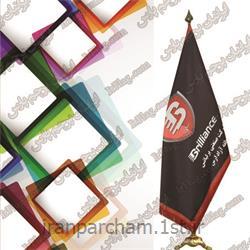 پرچم تشریفاتی ساتن 21